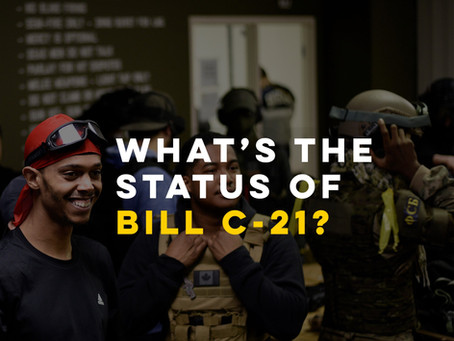 What's the status of Bill C-21?