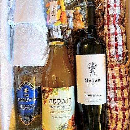 מארז יין וקוקטייל אוזו