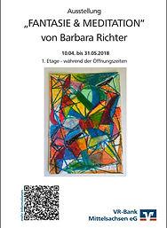 Ausstellungsplakat Barbara Richter