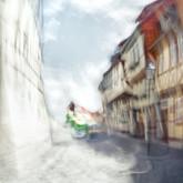 Der grüne Lastwagen, Quedlinburg