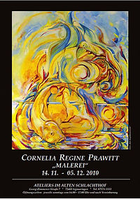 C R Prawitt . Ausstellungsplakat 2010