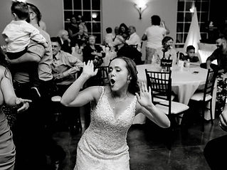 Bride Having A Great Time