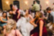 Bride Dancing during her weddig reception