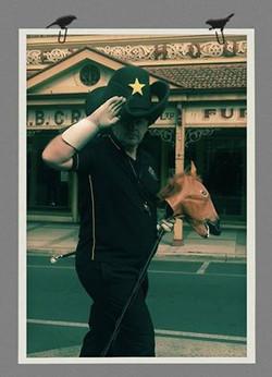 Champion Australian Drum Major
