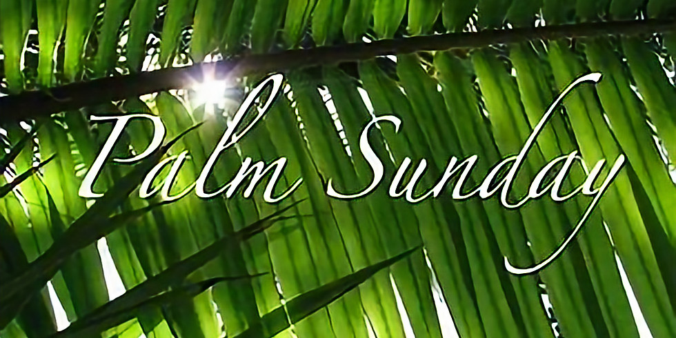 Palm Sunday/Egg Hunt