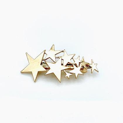 Major Bling Hairpins  - Gold Galactic