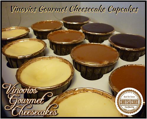 Vinovios Cheesecake Cupcake Sampler