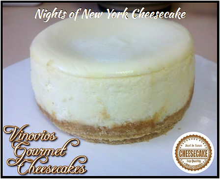 Vinovios Gourmet Cheesecakes Nights of New York Cheesecake