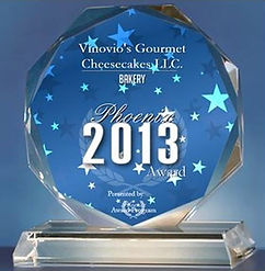 Best of Business 2013 Vinovios Gourmet Cheesecakes