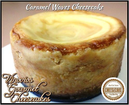 Vinovios Gourmet Caramel Waves Cheesecake