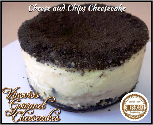 Cheese and Chips Cheesecake