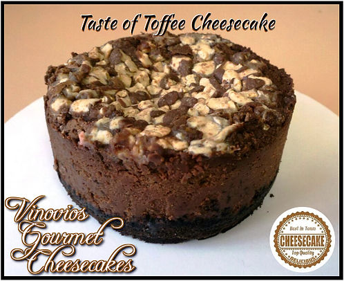 Taste of Toffee Cheesecake