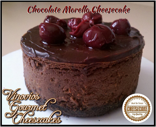 Vinovios Gourmet Chocolate Morello Cheesecake