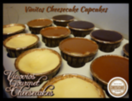 Vinitos Sampler  (Nights of New York, Lost in Chocolate, Caramel Waves cheesecake cupcakes).
