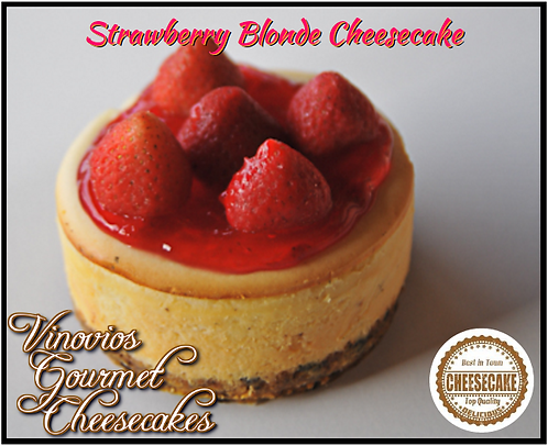 Strawberry Blonde Cheesecake