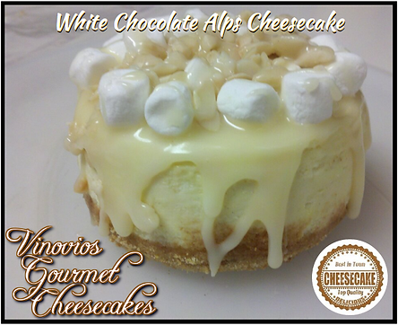 Vinovios Gourmet Cheesecakes Alps Cheesecake