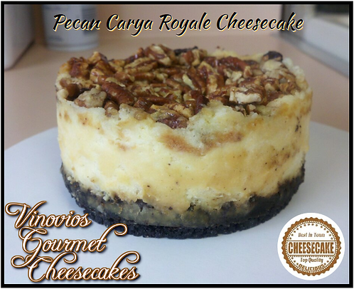 Pecan Carya Royale Cheesecake