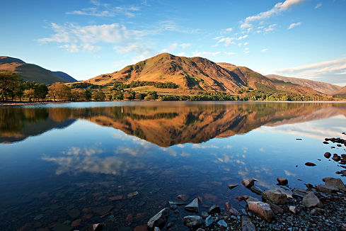 Lake Buttermere, Lake District Cumbria E