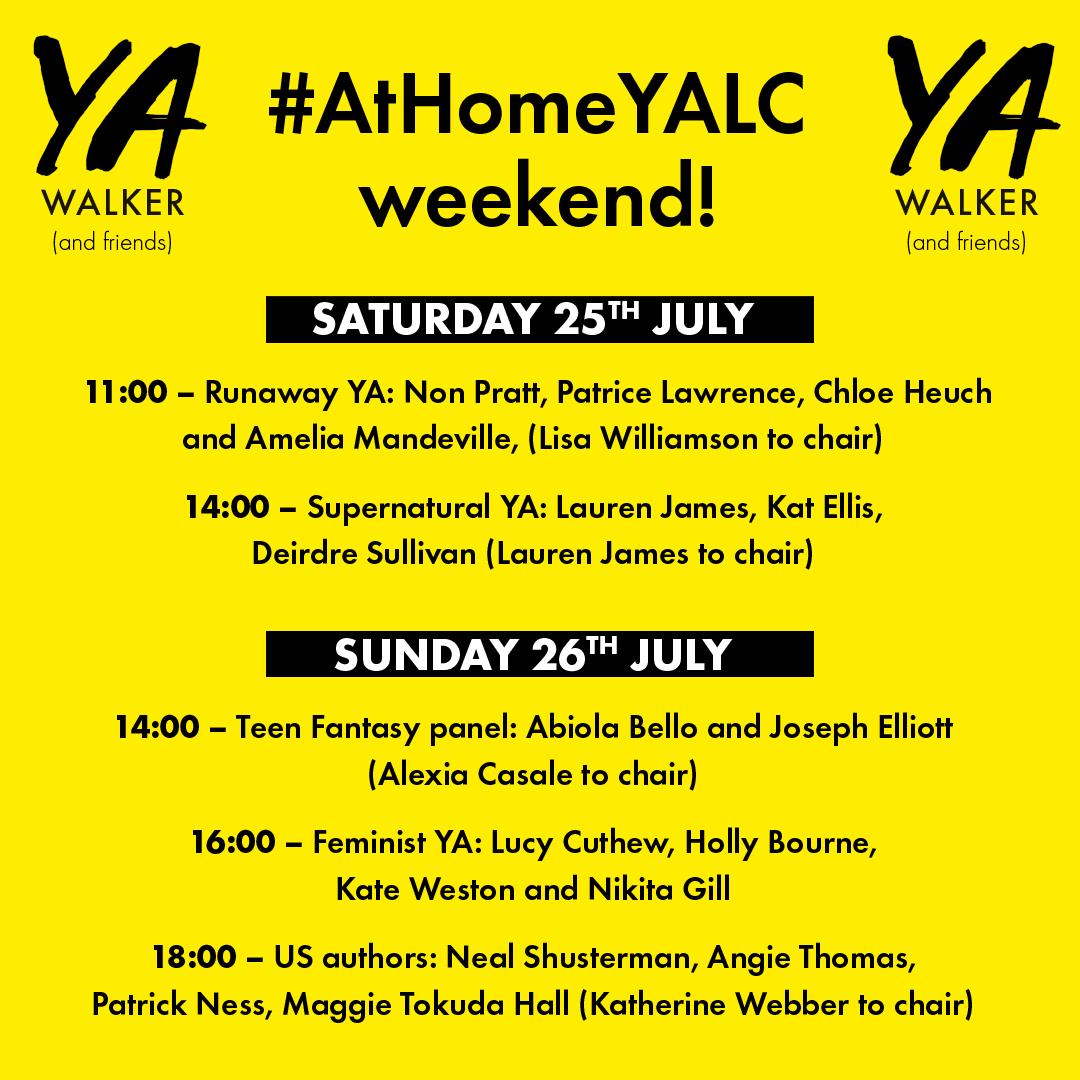 #AtHomeYALC 2020 line up