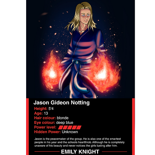 Jason Notting battle card