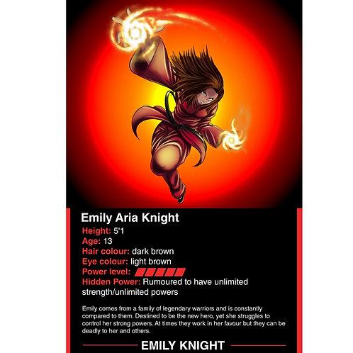 Emily Knight battle card
