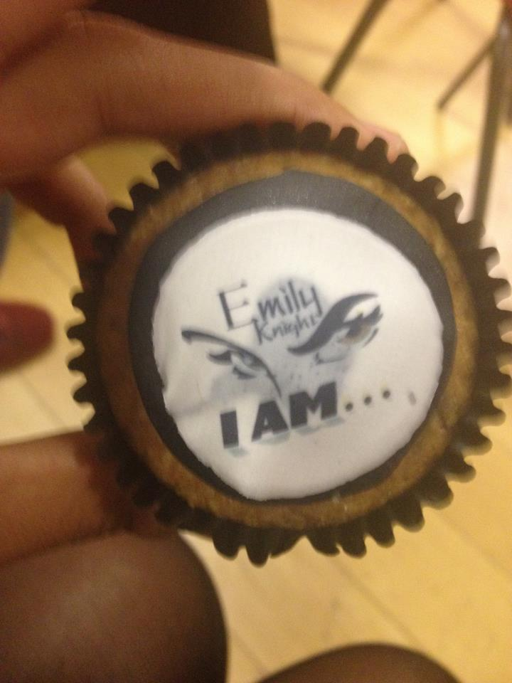 Love the logo on the cupcake!
