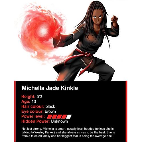 Michella Kinkle battle card