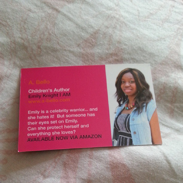 Instagram - My kid friendly business cards came!! Quick promotion now #kids #boo