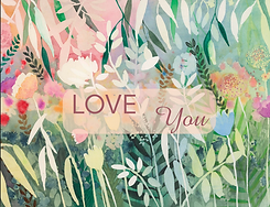 cartes Saint Valentin LoveYou