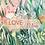 """Thumbnail: Carte de Saint-Valentin """"Love you"""" - petit format"""