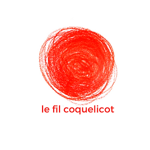 boule de fil rouge coquelicot