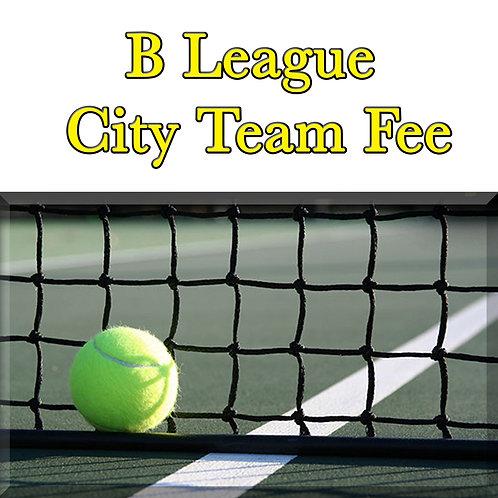 B League City Team Fee