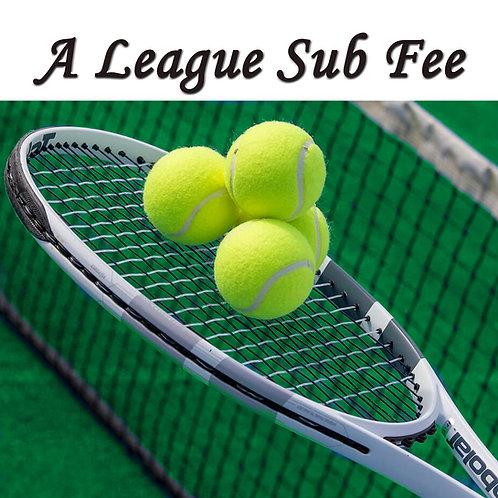 A League Sub Fee