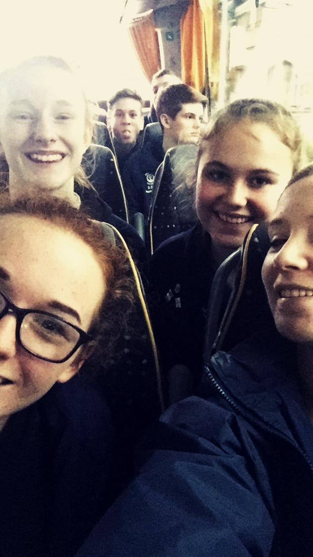 Bus selfie