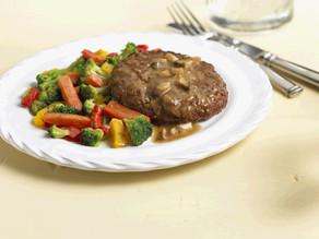 Sirloin Salisbury Steak