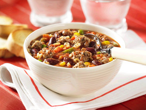 Hearty Beef Minestrone Soup