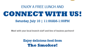 7/11 - Bangor Saving Bank - Connect with Lunch! 11am-1pm