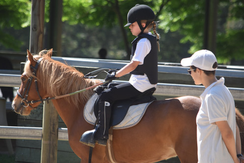 Private lessons for junior riders