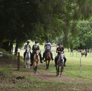Holiday camps and trail rides