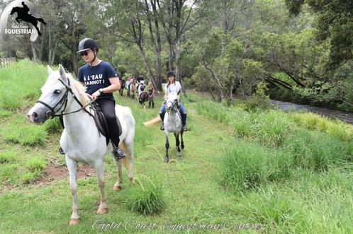 Ride along the Coomera River