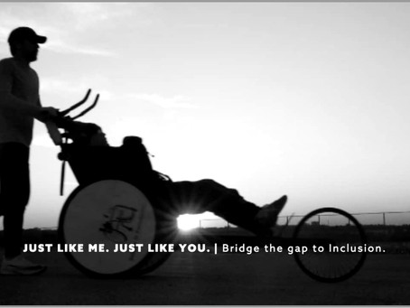 Just Like Me. Just Like You.Bridge the Gap to Inclusion.