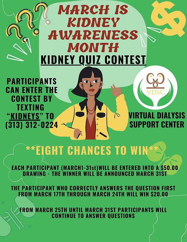 Kidney Awareness Month Flier Final Draft