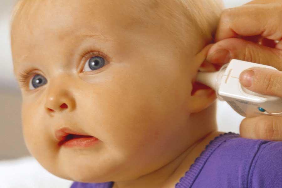 Исследование слуха детям