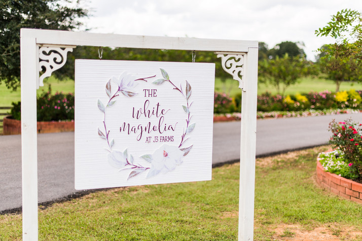 Mr. and Mrs. Bishop Wedding | White Magnolia