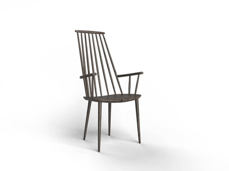Elementary 3D modeling course Chair rend