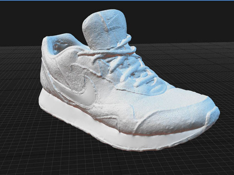 3D scan and print workshop Shoe Scan cla