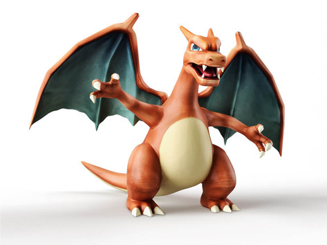 Zbrush Elementary Course Charizard Raw.j