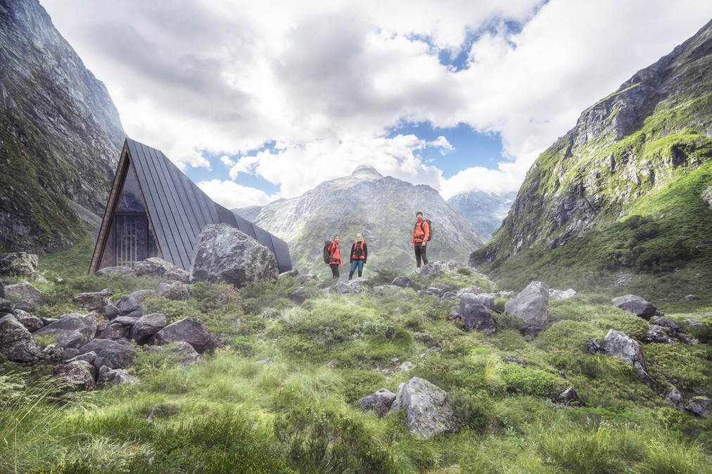 Mountain Shelter Bivouac 1 MediaLab Arch