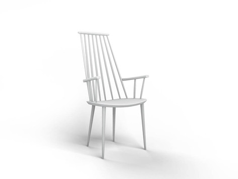 Elementary 3D modeling course Chair Clay