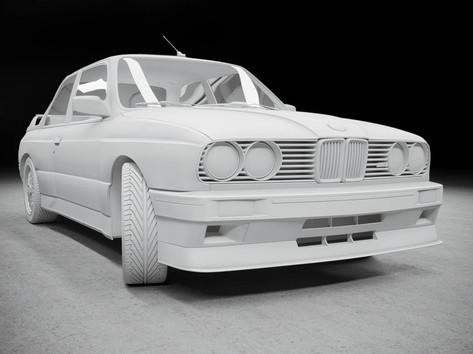 Advanced 3D modeling Course BMW E30 M3 1